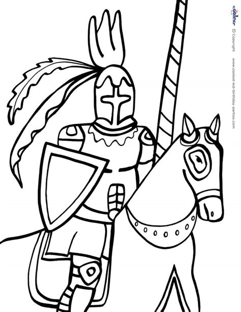 printable coloring pages knights free coloring pages of castles and dragons