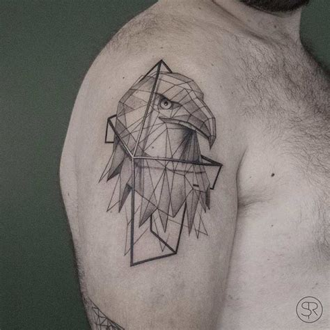 low poly tattoo striking low poly geometric tattoos of animals and