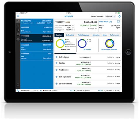 bank of america app for android tablets bmo investorline apps bmo