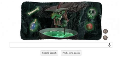 google images of halloween halloween witch interactive google doodle celebrates a