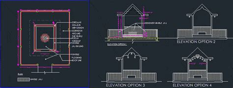 temple dwg plan  autocad designs cad