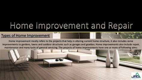 home improvement and repair