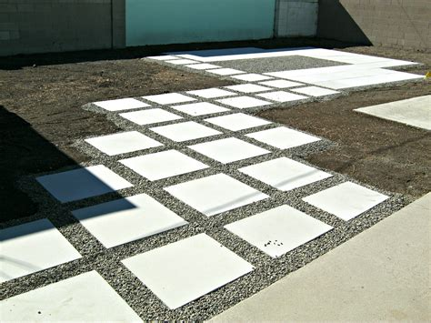 concrete patio pavers concrete backyard makeover lynda makara