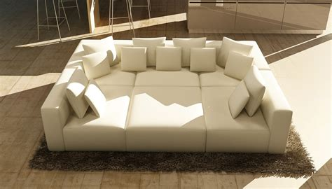 206 Modern White Bonded Leather Sectional Sofa Las Vegas White Modern Sectional Sofa