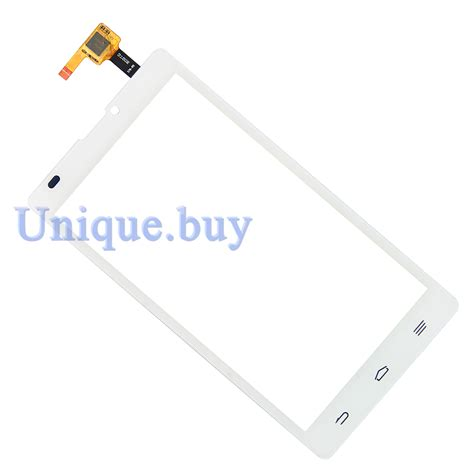 touch l replacement glass panels white touch screen for zte blade l2 glass panel digitizer