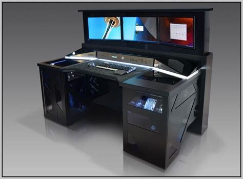 Custom Computer Desk Ideas Custom Computer Desk Designs Best 25 Custom Computer Desk Ideas On Custom Pc Desk