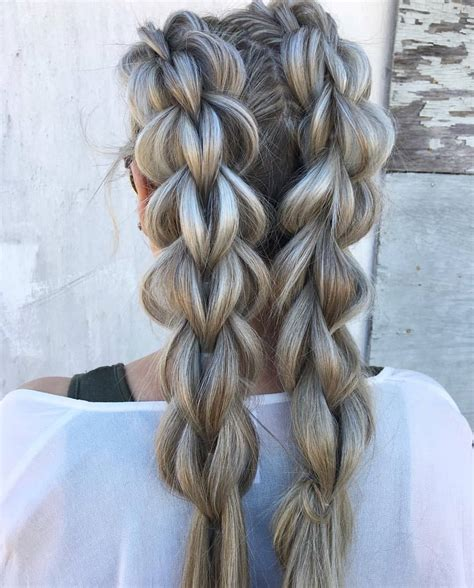 10 amazing braided hairstyles for long hair 2019 women