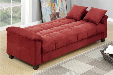 Microfiber Futon Sofa Bed by Microfiber Storage Futon Sofa Bed