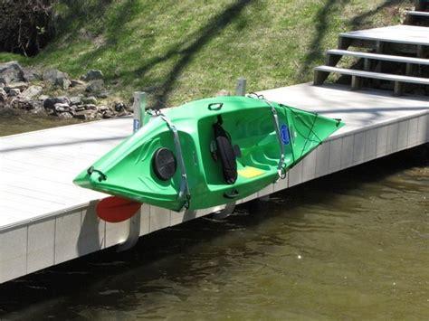 boat dock kayak rack 12 best kayak docks safe launch images on pinterest