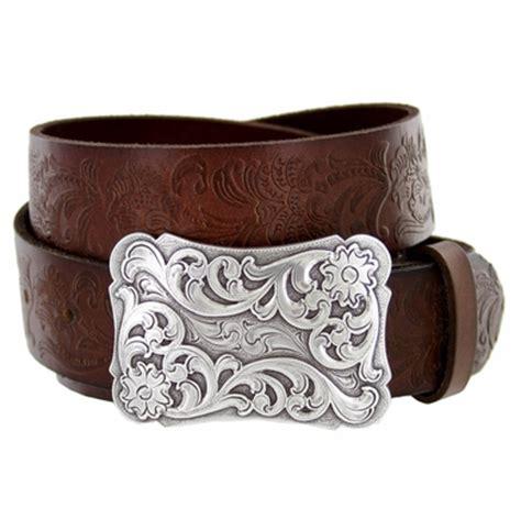 xanthe s western grain leather belt brown
