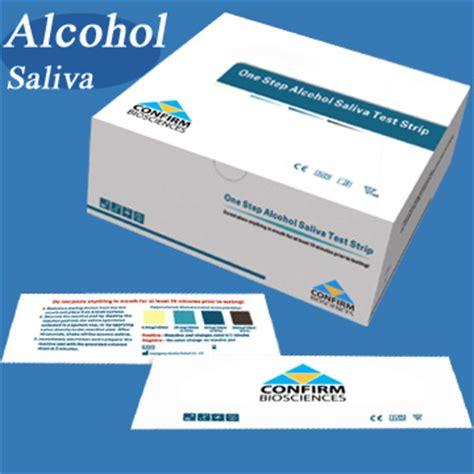 Test Kit Alkohol saliva test kits swab testing strips