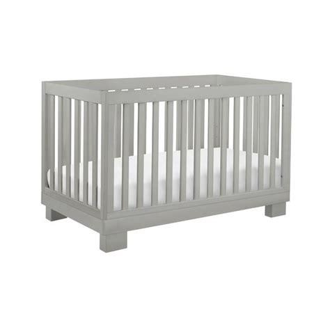 Babyletto Modo 3 In 1 Convertible Crib In Grey M6701g Grey Convertible Cribs