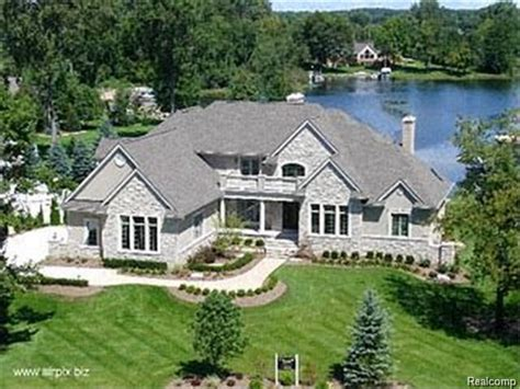 lakefront homes for sale oakland county lakefront home