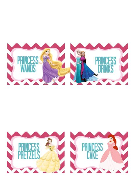 free printable party decorations princess princess party free printable