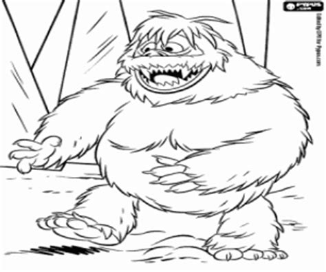 coloring pages abominable snowman rudolph the red nosed reindeer coloring pages printable