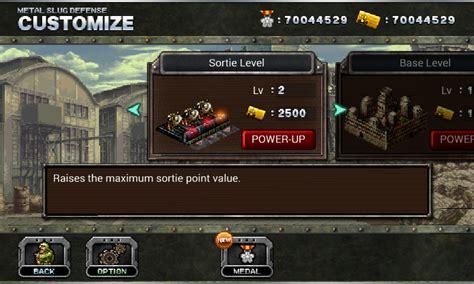 mod game ringan game ringan metal slug defense mod android4store