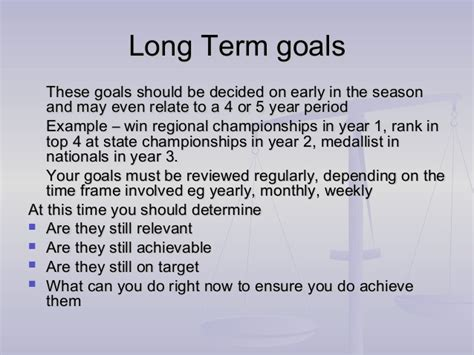 Term And Term Goals Essay by Essays About And Term Goals