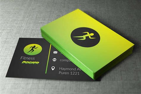 fitness business card template fitness business cards business card tips
