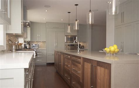 modern kitchen island lighting brings warmth to canadadian