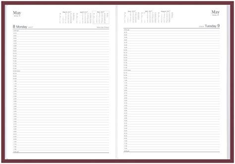 2018 daily diary one page a day 368 fully lined pages daily journal books 42 50 diary appointment 2019 a41 a4 15 minutes 8am 8pm