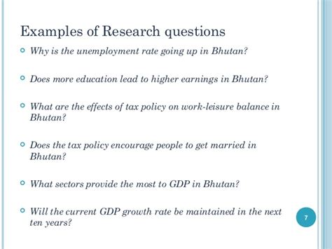 pattern of research questions introduction to writing an undergraduate economics
