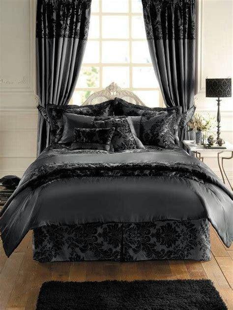damask bedroom beautiful dark bedding set think dracula sleeps here