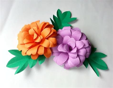 Flower Papercraft - diy paper flower 183 how to make a flowers rosettes