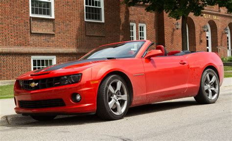 chevrolet camaro ss convertible review digital trends