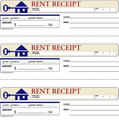 free rent receipts for landlords rent receipt this