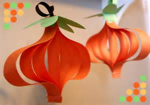 Pumpkin Construction Paper Crafts - crafts and recipe s