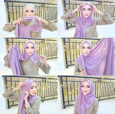 tutorial hijab pengantin masa kini tutorial hijab segi empat masa kini 2017 paling populer