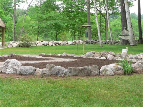 Fieldstone Gardens by Maine Stonework Masonry Hardscaping Perennial