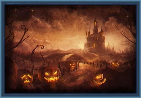 imagenes geniales de halloween dibujos de halloween que den miedo para imprimir archivos