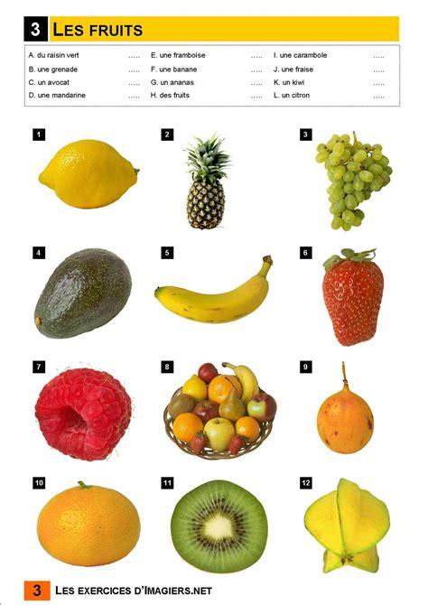 fruit 5 lettres fran 231 ais langue 201 trang 232 re a1 fruits vocabulaire