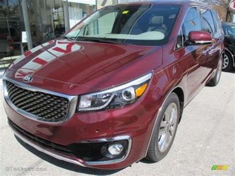 kia sedona 2015 colors 2015 black berry kia sedona limited 103000912 gtcarlot