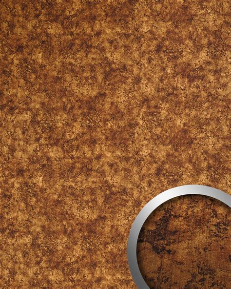 wandverkleidung metall wallface 17277 deco vintage wandpaneel metall rost optik
