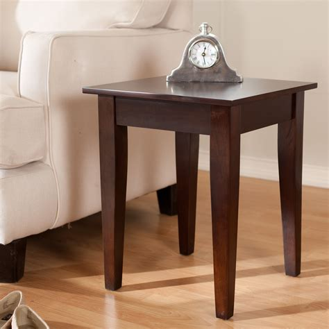 Wooden Living Room Table Simple Wooden Square End Tables For Living Room Decor Popular Home Interior Decoration