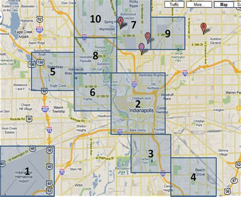pin map of indianapolis on pinterest