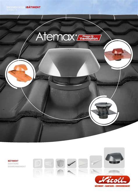 tuile chapeau de ventilation calam 233 o atemax chapeau de ventilation tatemax15