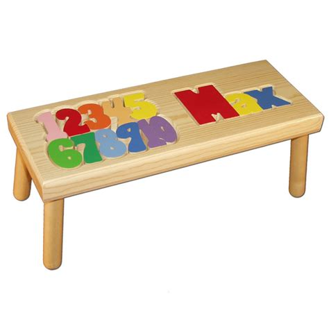 Puzzle Stools by Name And Number Puzzle Stool Damhorst Toys Puzzles Inc Store