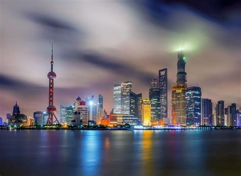 china house shop city china night shanghai town house hd wallpaper