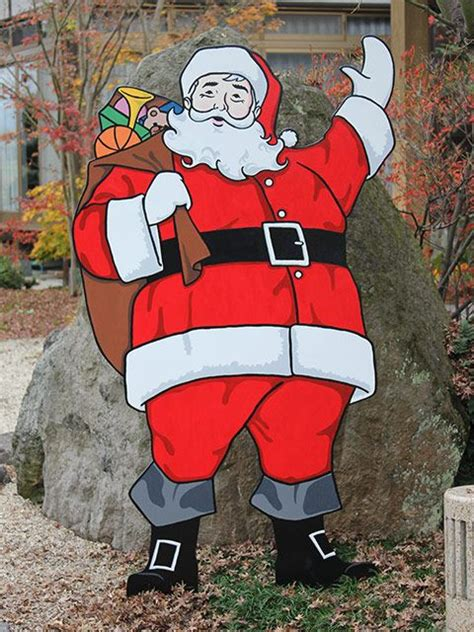 santa wood yard art 286 best images about retro outdoor on outdoor vintage
