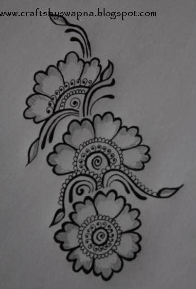 Simple Henna Design Drawing | my craft ideas january 2012