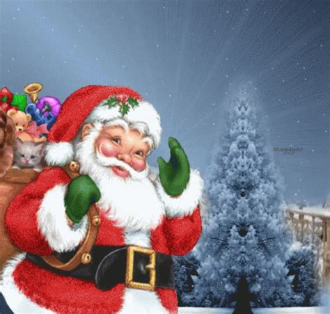 anmated waving snata waving santa claus pictures photos and images for and
