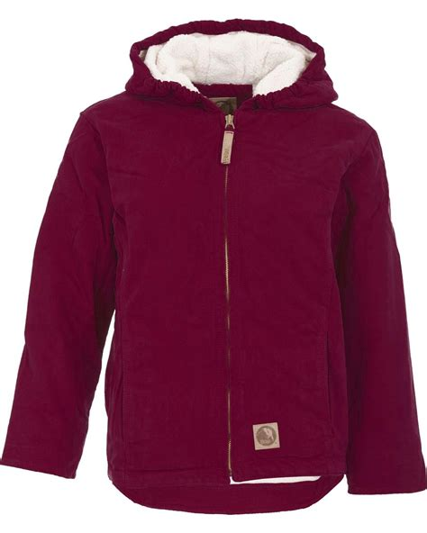 Washed Fleece Lined berne washed sherpa lined hooded jacket bhj41rnyr