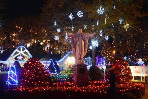 attleboro s lasalette shrine opens new season of lights