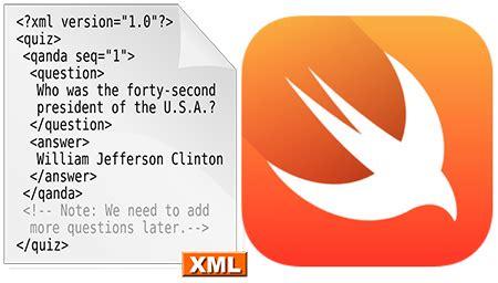 xml tutorial in ios xml parsing in swift language ios 10 xmlparser
