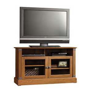 sauder tv stands sauder carson forge panel tv stand 412921 free shipping