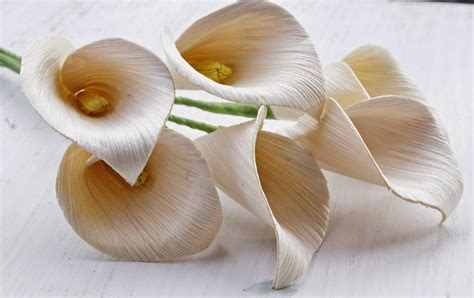 diy how to make calla lily flowers using dried corn husks reduce reuse recycle replenish