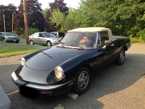 Alfa Romeo Spiders For Sale by 1986 Alfa Romeo Spider Graduate For Sale